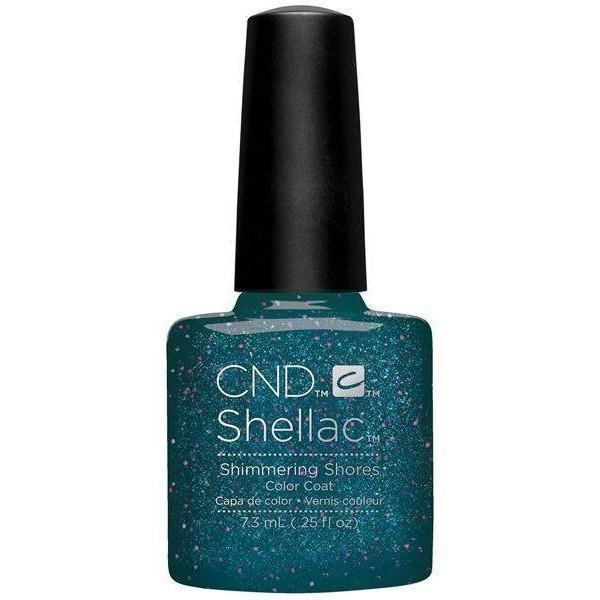 CND Creative Nail Design Shellac - Shimmering Shores-Gel Nail Polish-Universal Nail Supplies