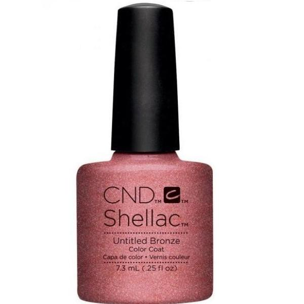 CND Creative Nail Design Shellac - Untitled Bronze-Gel Nail Polish-Universal Nail Supplies