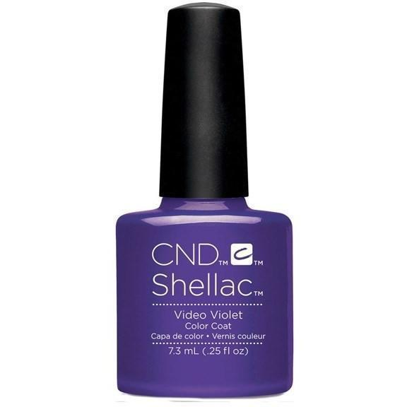CND Creative Nail Design Shellac - Video Violet-Gel Nail Polish-Universal Nail Supplies