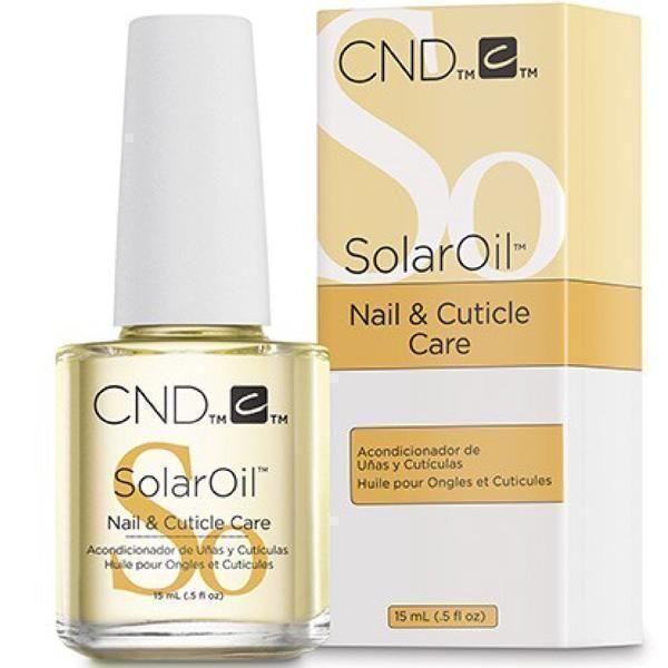 CND Creative Nail Design Solar Oil Nail & Cuticle Care 0.5 oz-CND Treatments-Universal Nail Supplies