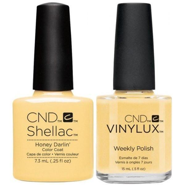 CND Creative Nail Design Vinylux + Shellac Honey Darlin'-Gel Nail Polish + Lacquer-Universal Nail Supplies