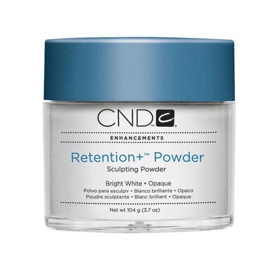 CND Retention + Sculpting Powder Bright White - Opaque 3.7 oz-Acrylic Nails & Tips-Universal Nail Supplies