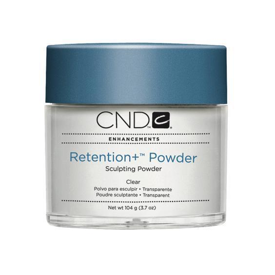 CND Retention + Sculpting Powder Clear Transparent 3.7 oz-Acrylic Nails & Tips-Universal Nail Supplies