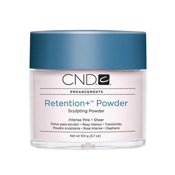 CND Retention + Sculpting Powder Intense Pink Sheer 3.7 oz-Acrylic Nails & Tips-Universal Nail Supplies