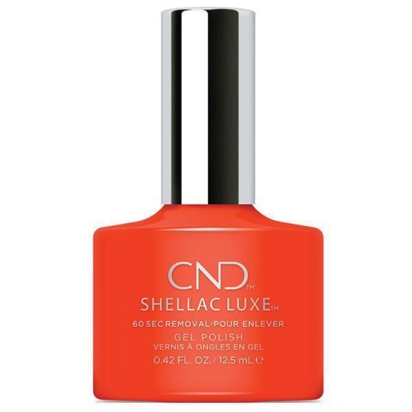 CND Shellac Luxe - Electric Orange #112-Gel Nail Polish-Universal Nail Supplies