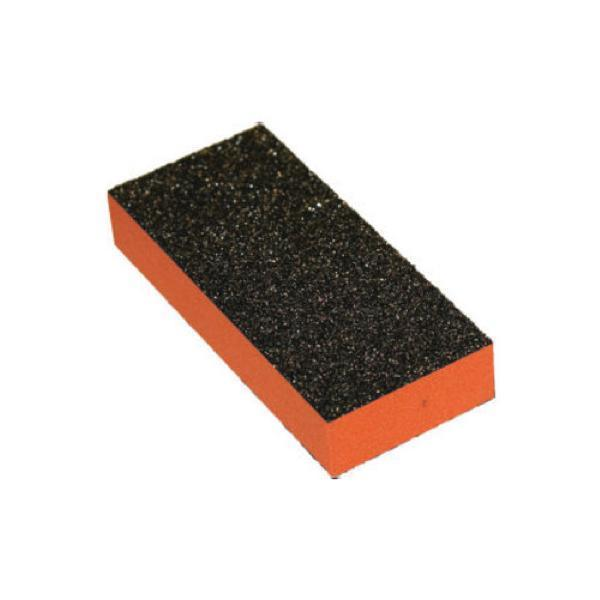 Cre8tion - 2 Way Orange Foam Black Grit 80/100 Set of 18 #06021-Nail Tools-Universal Nail Supplies
