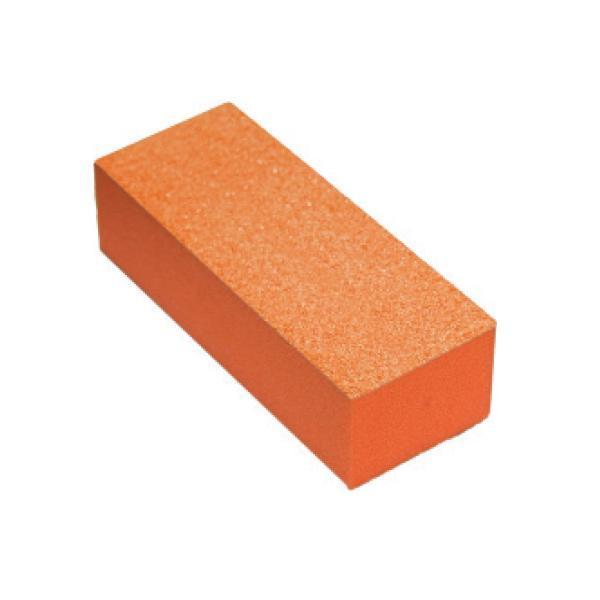 Cre8tion - 3 Way Orange Foam Orange Grit 100/180 Set of 12 #06044-Nail Tools-Universal Nail Supplies