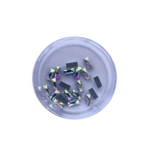 Crystal Nail Art Rhinestones - One Container 20 Pieces #6-Rhinestones-Universal Nail Supplies