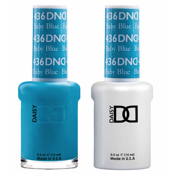 DND Daisy Gel Duo - Baby Blue #436-Gel Nail Polish + Lacquer-Universal Nail Supplies