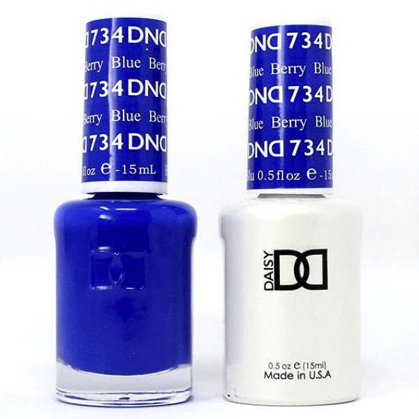 DND Daisy Gel Duo -Berry Blue #734-Gel Nail Polish + Lacquer-Universal Nail Supplies