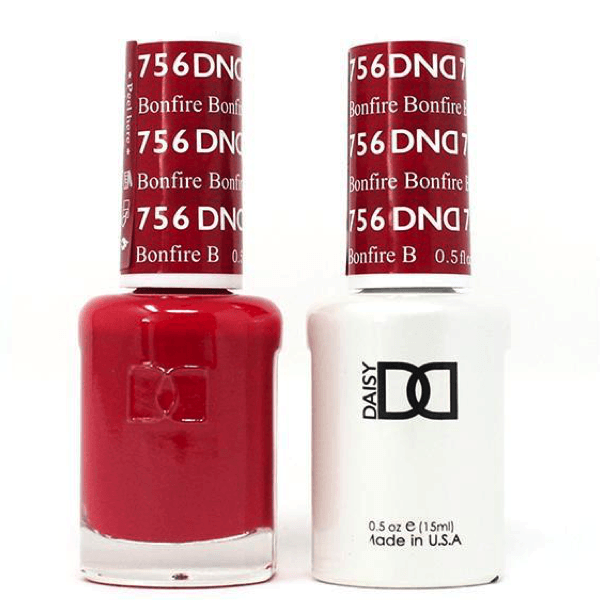 DND Daisy Gel Duo - Bonfire #756-Gel Nail Polish + Lacquer-Universal Nail Supplies