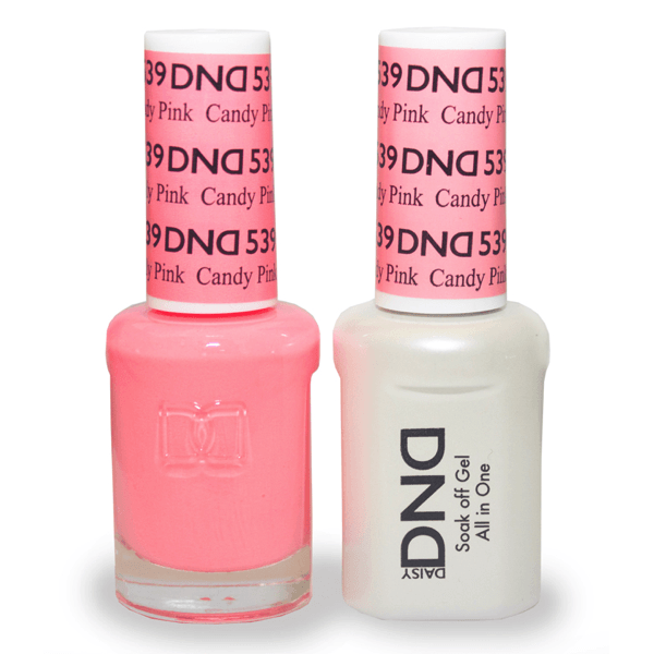 DND Daisy Gel Duo - Candy Pink #539-Gel Nail Polish + Lacquer-Universal Nail Supplies