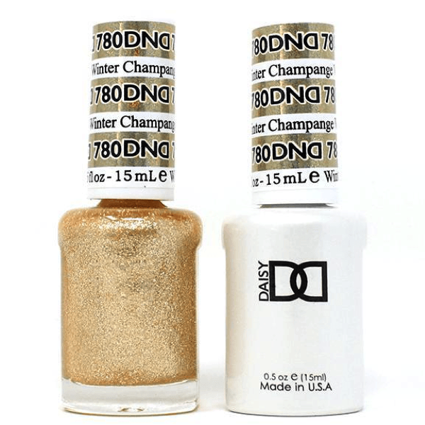 DND Daisy Gel Duo - Champagne Winter #780-Gel Nail Polish + Lacquer-Universal Nail Supplies