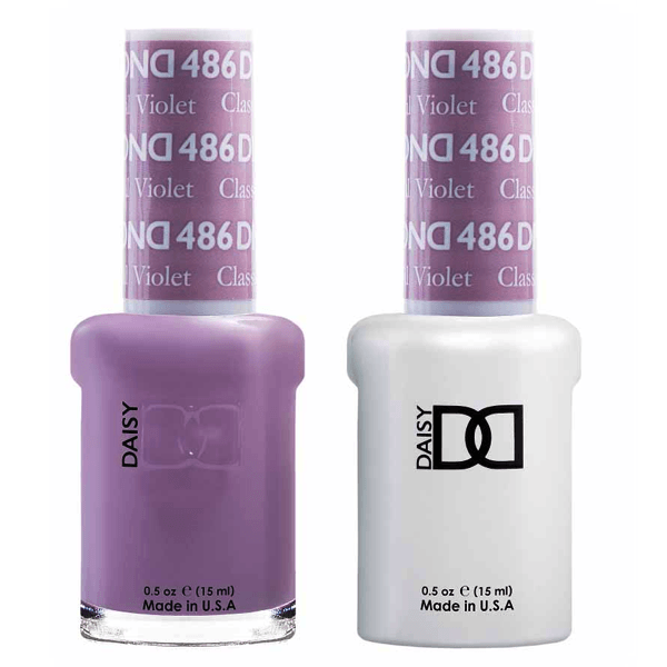 DND Daisy Gel Duo - Classical Violet #486-Gel Nail Polish + Lacquer-Universal Nail Supplies