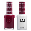 DND Daisy Gel Duo - Dark Scarlet #432-Gel Nail Polish + Lacquer-Universal Nail Supplies