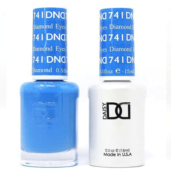DND Daisy Gel Duo - Diamond Eyes #741-Gel Nail Polish + Lacquer-Universal Nail Supplies