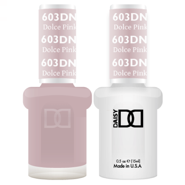 DND Daisy Gel Duo - Dolce Pink #603-Gel Nail Polish + Lacquer-Universal Nail Supplies