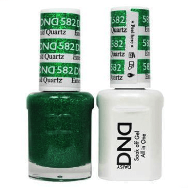 DND Daisy Gel Duo - Emerald Quartz #582-Gel Nail Polish + Lacquer-Universal Nail Supplies