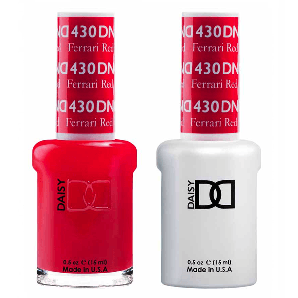 DND Daisy Gel Duo - Ferrari Red #430-Gel Nail Polish + Lacquer-Universal Nail Supplies