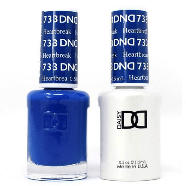 DND Daisy Gel Duo - Heartbreak #733-Gel Nail Polish + Lacquer-Universal Nail Supplies