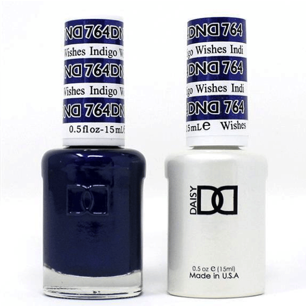 DND Daisy Gel Duo - Indigo Wishe #764-Gel Nail Polish + Lacquer-Universal Nail Supplies