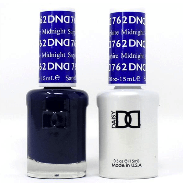DND Daisy Gel Duo - Midnight Sapphire #762-Gel Nail Polish + Lacquer-Universal Nail Supplies