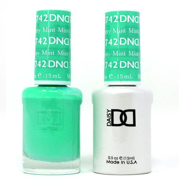 DND Daisy Gel Duo - Minty Mint #742-Gel Nail Polish + Lacquer-Universal Nail Supplies