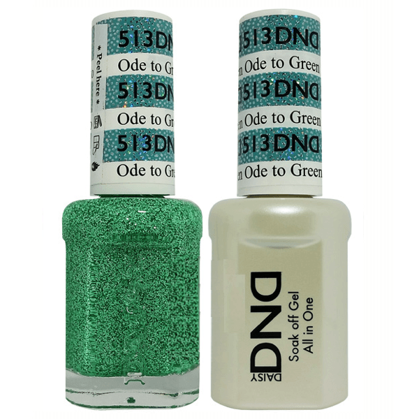 DND Daisy Gel Duo - Ode To Green #513-Gel Nail Polish + Lacquer-Universal Nail Supplies