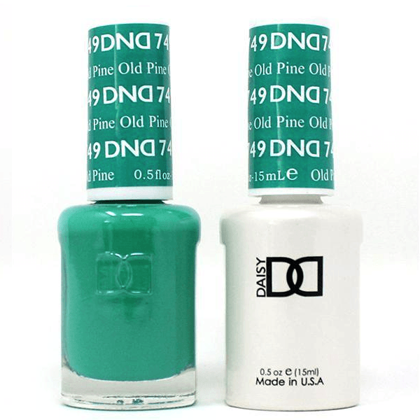 DND Daisy Gel Duo - Old Pine #749-Gel Nail Polish + Lacquer-Universal Nail Supplies