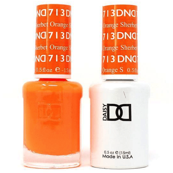 DND Daisy Gel Duo - Orange Sherbet #713-Gel Nail Polish + Lacquer-Universal Nail Supplies