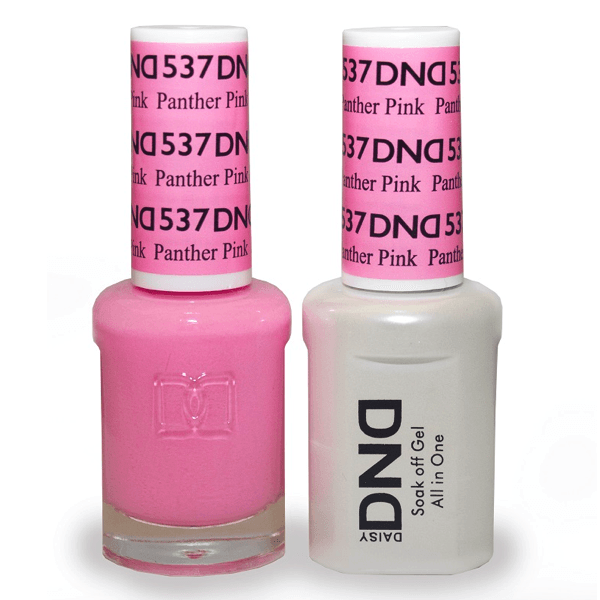DND Daisy Gel Duo - Panther Pink #537-Gel Nail Polish + Lacquer-Universal Nail Supplies