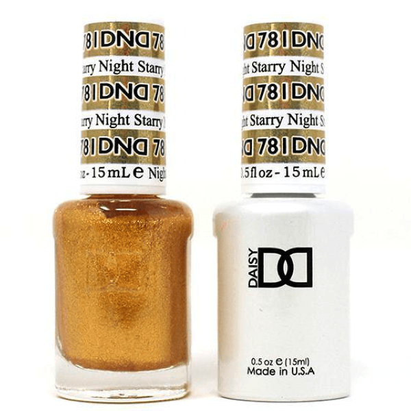 DND Daisy Gel Duo - Starry Night #781-Gel Nail Polish + Lacquer-Universal Nail Supplies
