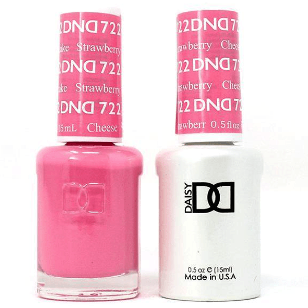 DND Daisy Gel Duo - Strawberry Cheesecake #722-Gel Nail Polish + Lacquer-Universal Nail Supplies