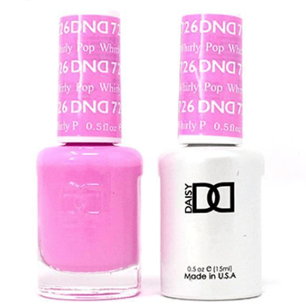 DND Daisy Gel Duo - Whirly Pop #726-Gel Nail Polish + Lacquer-Universal Nail Supplies