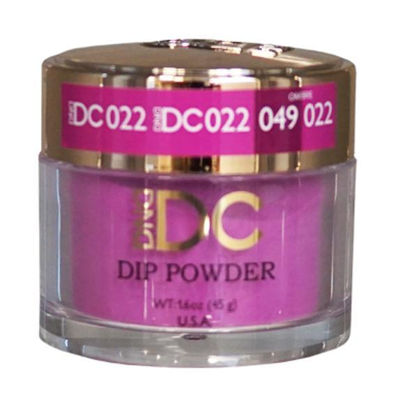 DND DC DIPPING POWDER - #022 Magenta Rose-DND DC Dip Powder-Universal Nail Supplies
