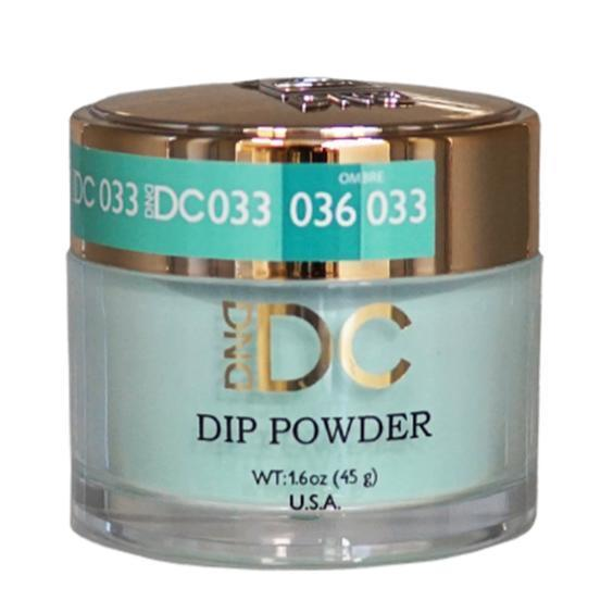 DND DC DIPPING POWDER - #033 Nile Green-DND DC Dip Powder-Universal Nail Supplies