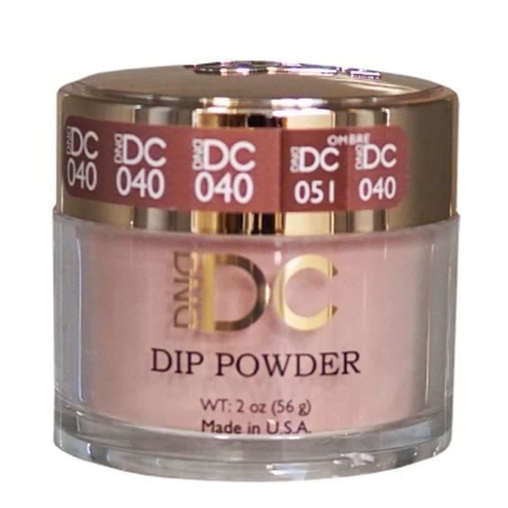DND DC DIPPING POWDER - #040 Sandy Brown-DND DC Dip Powder-Universal Nail Supplies