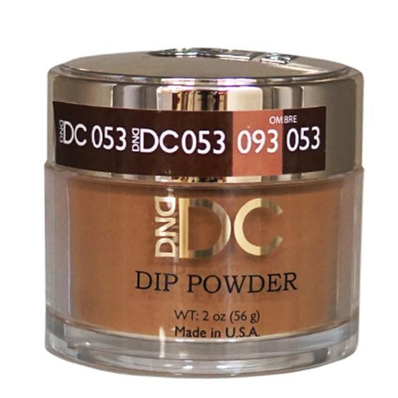 DND DC DIPPING POWDER - #053 Spiced Brown-DND DC Dip Powder-Universal Nail Supplies