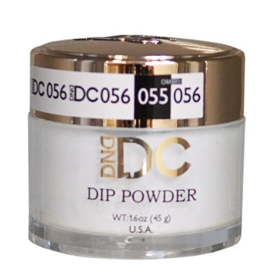 DND DC DIPPING POWDER - #056 White Chalk-DND DC Dip Powder-Universal Nail Supplies