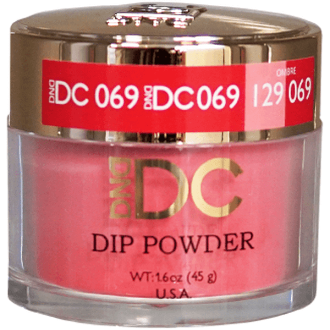 DND DC DIPPING POWDER - #069 Royal Pink - Universal Nail Supplies