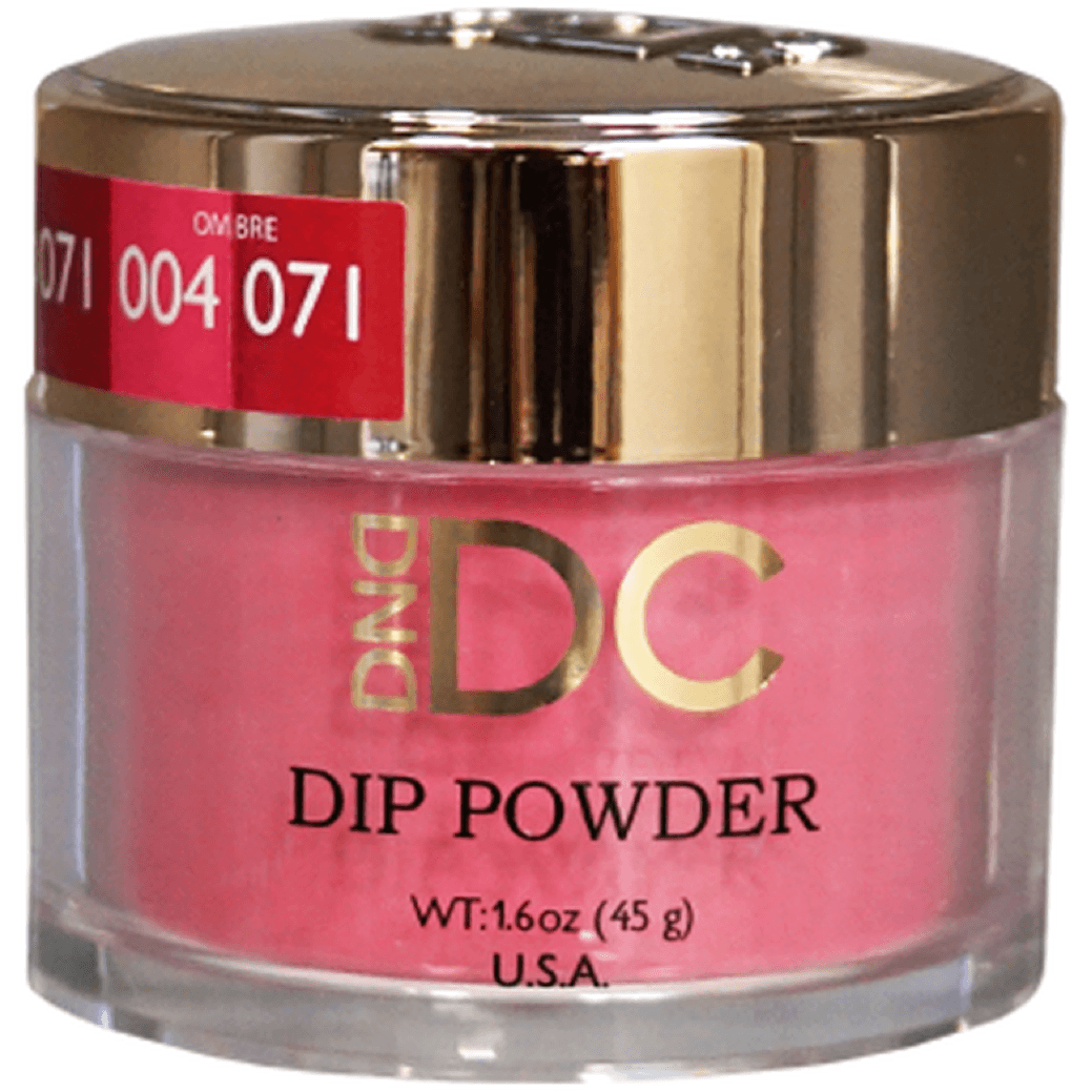 DND DC DIPPING POWDER - #071 Cherry Punch-DND DC Dip Powder-Universal Nail Supplies