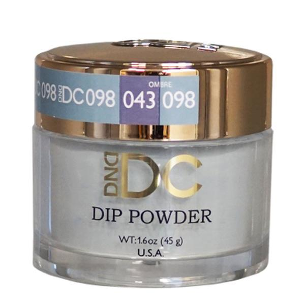 DND DC DIPPING POWDER - #098 Aqua Gray-DND DC Dip Powder-Universal Nail Supplies