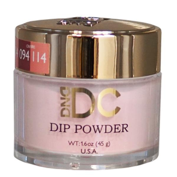 DND DC DIPPING POWDER - #114 Coral Nude-DND DC Dip Powder-Universal Nail Supplies