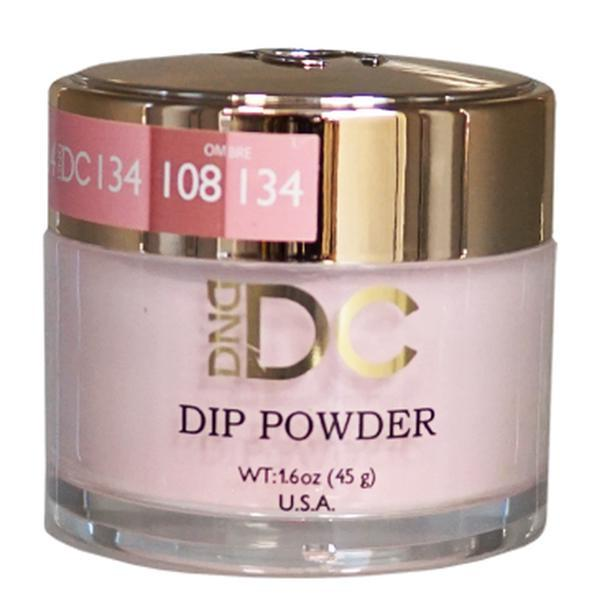 DND DC DIPPING POWDER - #134 Easy Pink-DND DC Dip Powder-Universal Nail Supplies