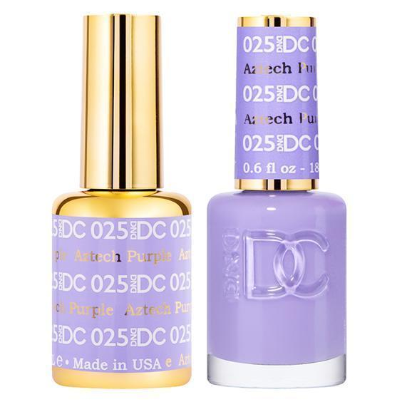 DND DC Gel Duo - Aztech Purple #025-Gel Nail Polish + Lacquer-Universal Nail Supplies