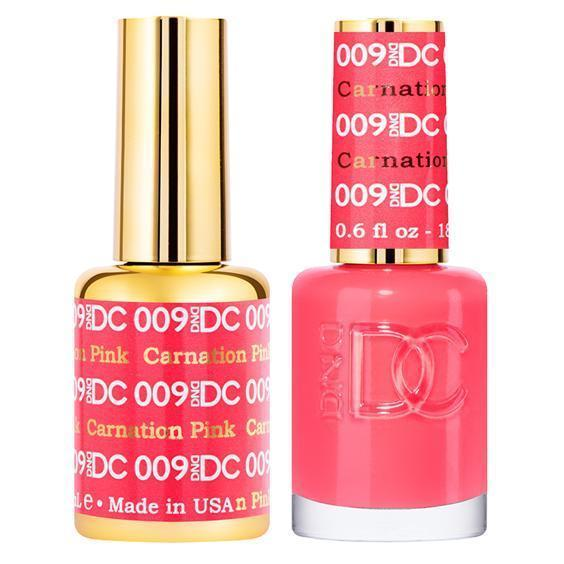 DND DC Gel Duo- Carnation Pink #009-Gel Nail Polish + Lacquer-Universal Nail Supplies