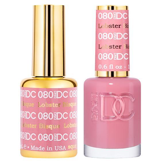 DND DC Gel Duo - Lobstor Bisque #080-Gel Nail Polish + Lacquer-Universal Nail Supplies