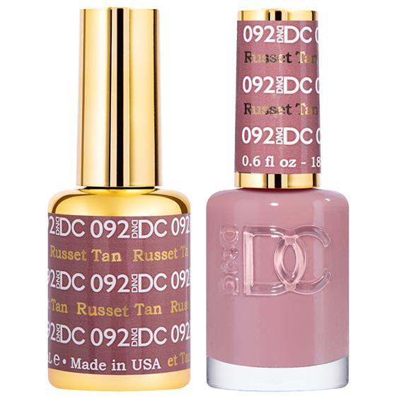 DND DC Gel Duo - Russet Tan #092-Gel Nail Polish + Lacquer-Universal Nail Supplies