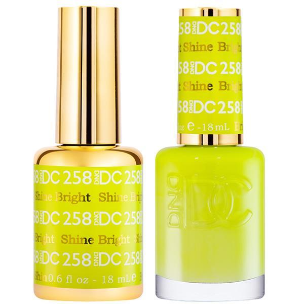 DND DC Gel Duo - Shine Bright #258-Gel Nail Polish + Lacquer-Universal Nail Supplies