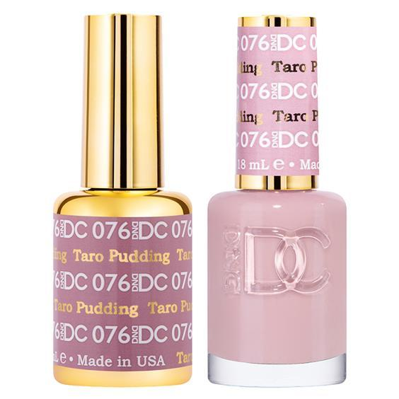 DND DC Gel Duo - Taro Pudding #076-Gel Nail Polish + Lacquer-Universal Nail Supplies